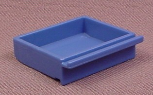 Playmobil Blue Shallow Drawer, 3130 3159 3165 3175a 3175b 3988 4410 5718 7456 7777