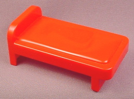 Playmobil 123 Red Single Bed, Furniture, 6600 6750 6802, 60 02 0460