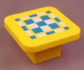 Playmobil 123 Yellow Table With A Game Board Top, 6741 6750 6802, 60 64 2190