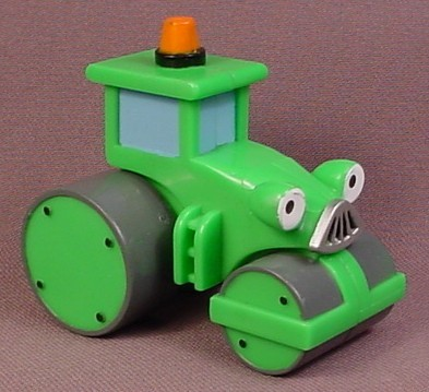 Bob The Builder Roley The Steamroller, Rear Wheels Turn, 2 1/2 Inches Tall