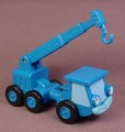 Bob The Builder 2002 Lofty The Crane Vehicle, Crane Arm Raises Up & Down, Hasbro