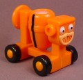 Bob The Builder 2002 Dizzy The Cement Mixer Vehicle, Bucket Spins, Hasbro, 2 Inches Tall