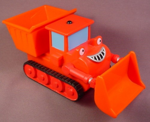 Bob The Builder 2001 Talking Muck The Dump Truck, Front Blade Moves Up & Down,