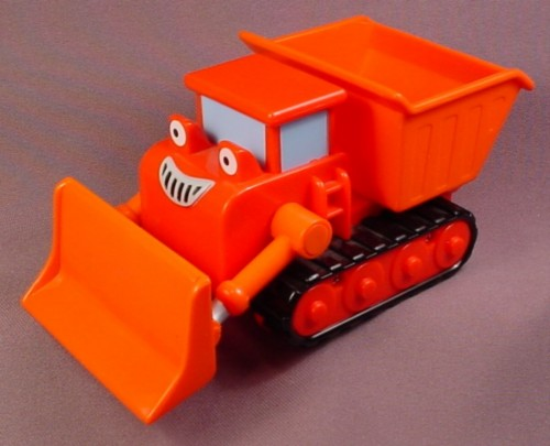 Bob The Builder 2005 Talking Muck The Dump Truck, Front Blade Moves Up & Down