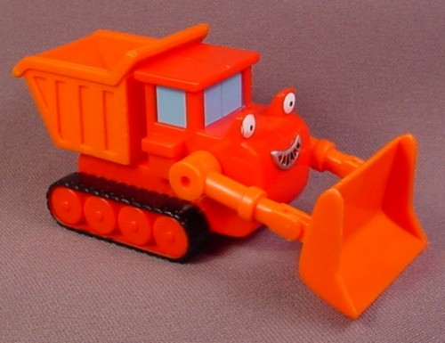 Bob The Builder 2001 Muck The Dump Truck, Front Blade Moves Up & Down