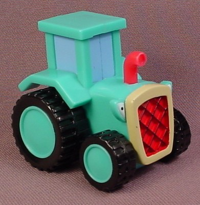Bob The Builder Travis the Tractor, 2 1/4 Inches Tall, 2 1/4 Inches Long