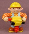 Bob The Builder With Post Hole Auger Drill Figure, 3