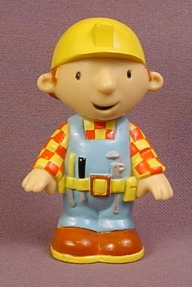 Bob The Builder PVC Figure, 2 3/4 Inches Tall