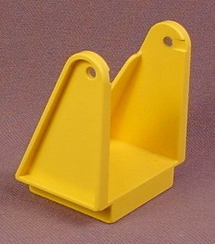 Lego Duplo 2223 Yellow Ladder Holder with 2x2 Base, 2 Pivot Points to Attach a Ladder, 1990