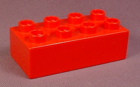 Lego Duplo 3011 Red 2x4 Brick