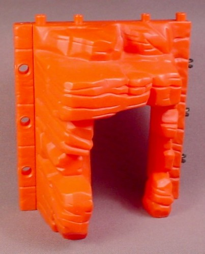 Fisher Price Imaginext Red Rock Wall with Cave Entrance, H6376 Captain Hook Island, 2005