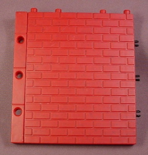 Fisher Price Imaginext Dark Red Brick Wall Rons Rescued Treasures
