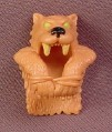 Fisher Price Imaginext Sabretooth Cowl Cloak with Yellow Eyes & Teeth for Caveman Figure