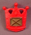 Fisher Price Imaginext Red Crown Shaped Shield with Gold Accent, J5099, Adventure Castle