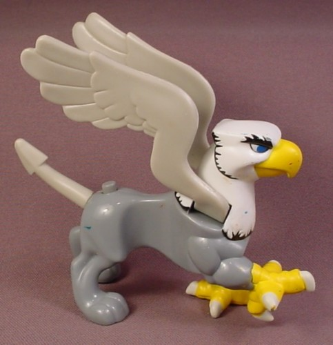 Fisher Price Imaginext Griffin Animal Figure with Flapping Wings, J7962, Adventure Griffin Set