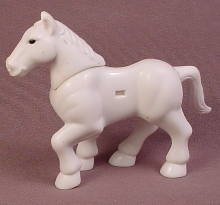 Fisher Price Imaginext White Horse Animal Figure, H2379 King Arthur Set, H2383 Silver Knights