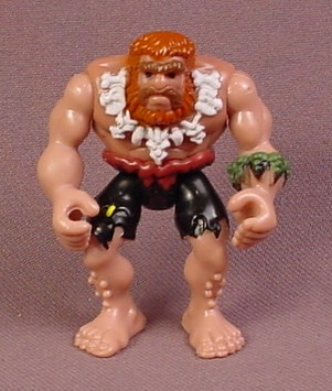 Fisher Price Imaginext Caveman Figure with Bone necklace, Long Red Hair & Beard, G8748