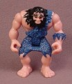 Fisher Price Imaginext Caveman Figure with Blue Clothes, Black Hair & Beard, H0045 Shreds