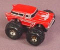 Micro Machines 1987 Chevrolet 1957 Nomad Monster Truck, Red with Silver Trim, Galoob