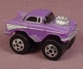 Micro Machines 1987 Road Champs 57 Chevy Bel Air Monster Truck, Mini Monster Wheels