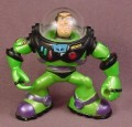 Disney Toy Story Buzz Lightyear Figure in Green & Black Suit, 2 3/4 Inches Tall, 2002, Figurine,