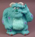 Disney Monsters Inc Sulley Soft Plastic Squeaky Bath Toy Figure, 5 Inches Tall, Figurine