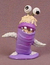 Disney Monsters Inc Boo In Monster Costume PVC Figure, 1 1/2 Inches Tall, Figurine, 2001