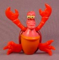 Disney The Little Mermaid Wind Up Sebastian The Crab Toy Figure, 3 1/4 Inches Tall