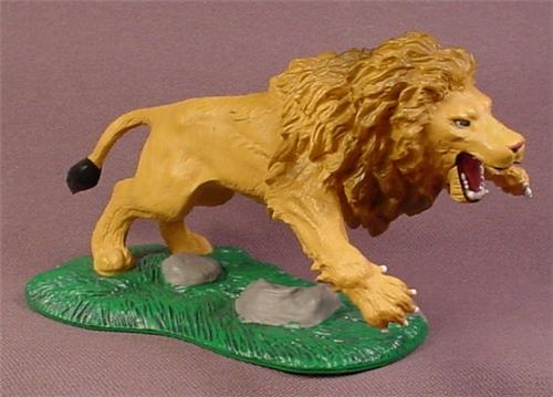 Disney Chronicles of Narnia Aslan The Lion PVC Figure on Base, 3 Inches Tall, Walden