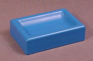 Playmobil 123 Blue Food or Water Trough, 1 3/4 Inches Long, 61 08 070, 6551 6601 6609