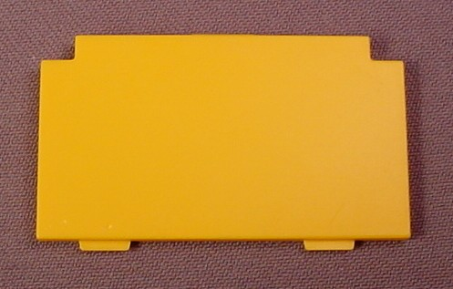 Playmobil Yellow or Gold Back of Modern Cabinet, 3207 5334