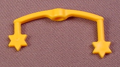 Playmobil Yellow Or Gold Baby Mobile Arm With Stars On The Ends, 4286 5334, 30 23 5340