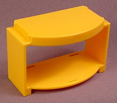 Playmobil Yellow or Gold Cabinet Frame with Rounded Front, 3207 5334