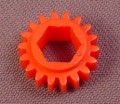 Playmobil Red Gear That Fits Onto A Shaft, 3615 3761 7330, 30 02 0770