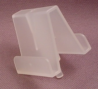 Playmobil Semi Transparent Magazine Rack Section, 3200 4400 4413, Sections Fit Together
