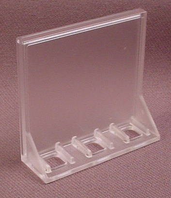 Playmobil Clear Tray Or Checkout Stand Platform, 3200, 1 5/8 by 1 3/4 Inches, 30 23 1250