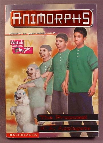 animorphs the proposal paperback chapter book 35 scholastic