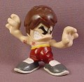 Tech Deck Dude Bruce #020 With Brown Hair & Pants, Bruce Lee Spoof, 2003 X-Concepts