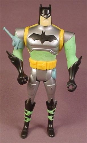 Batman Midnight Hunter Action Figure, 1993 Kenner, 4 3/4 Inches Tall, Mission Masters Series 4