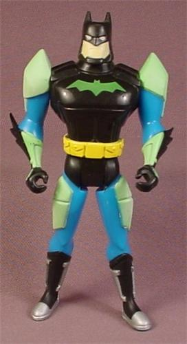 Batman Lunar Attack Batman Action Figure, 1998 Kenner, 4 3/4 Inches Tall, Mission Masters