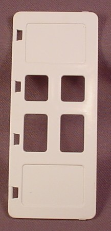Lego Duplo 2209 White 1X3X6 Door With 4 Small Panes, 4 Hinge Points, 2658 2672, Fire House