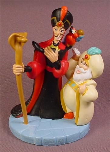 Disney Aladdin Villain Jafar With The Sultan PVC Figure, Disney Store Lil Classics Series