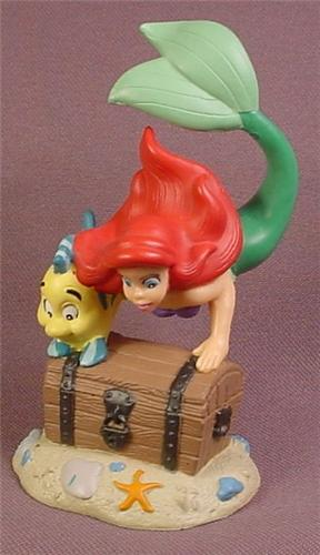 Toys For 4 And Up : Disney the little mermaid ariel flounder with treasure