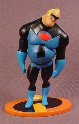 The Incredibles Toys : Disney the incredibles mr incredible in blue black
