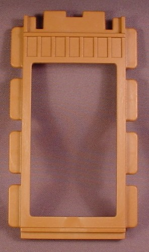 Playmobil Brown Wooden Wall With Open Frame, 1 Unit Wide, 3436 3769 3770  3775 4305