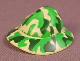 Playmobil Green & Yellow Camo Floppy Hat With Wide Brim, 4057 4170