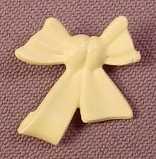 Playmobil Light Yellow Bow & Ribbon For The Back Of A Hoop Skirt, 4657
