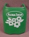 Playmobil Dark Green Apron With Flower Shop & Flowers Printed On It, 4484