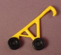 Playmobil Yellow Side For Baby Stroller With Handle & Black Wheels, Clips Into The Seat, 3209