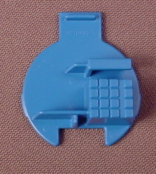 Playmobil Blue Pay Phone Interior With Keyboard, Payphone, 3186 3254 3353 3886 4302 4303